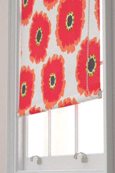 Sanderson Papavera Chalk / Coral Blind - Product code: 224611
