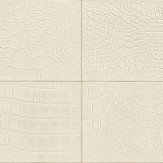 Albany Crocodile Brick Effect Pale Cream Wallpaper