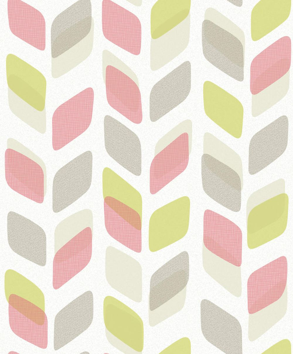 Albany Geometric Trail Lime Wallpaper - Product code: UN3005