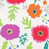 Sanderson Wind Poppies Cerise / Magenta Fabric