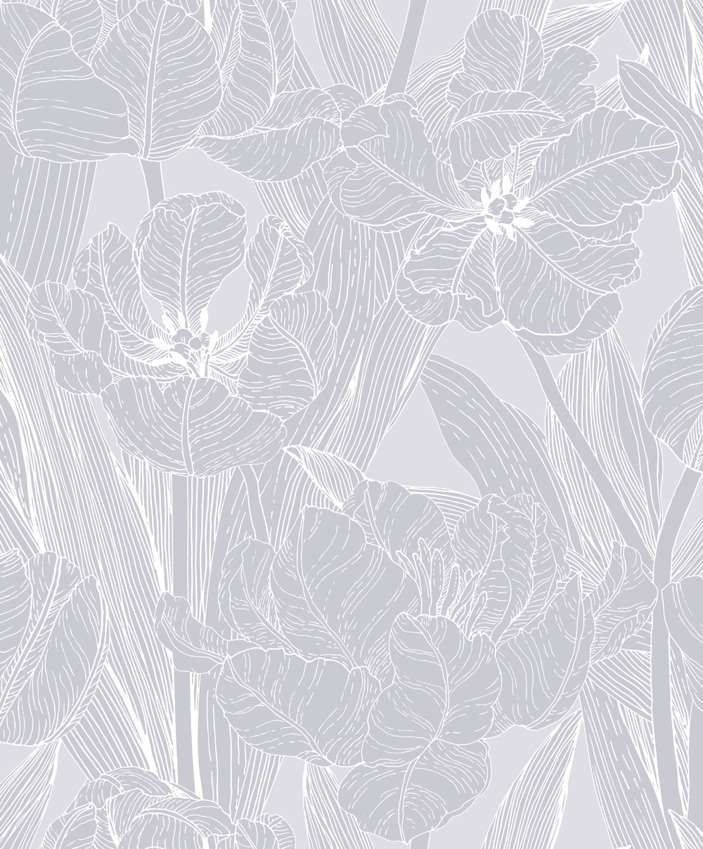 Vallila Jolie Grey Wallpaper - Product code: 5139-1