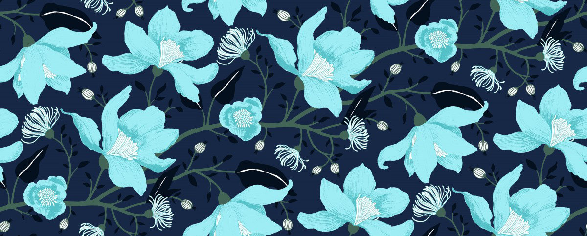 Image of Vallila Wallpapers Clematis, 5140-1