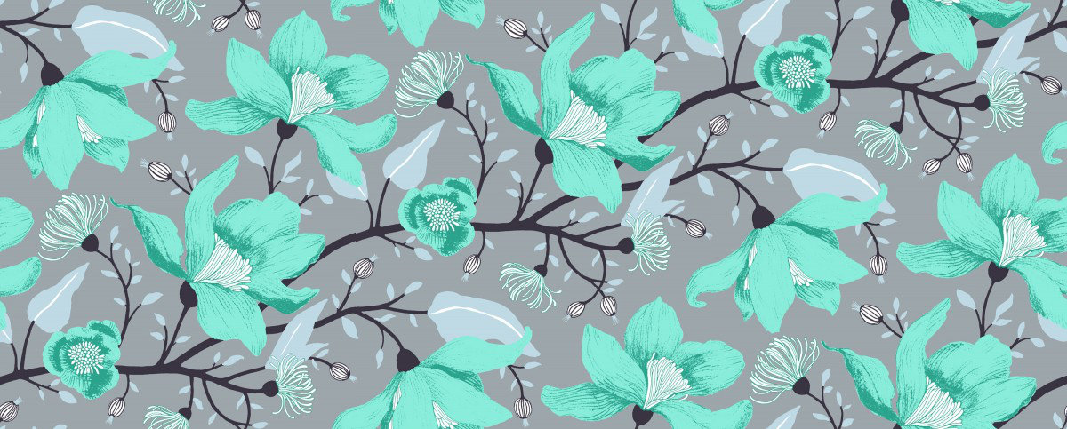 Image of Vallila Wallpapers Clematis, 5140-2