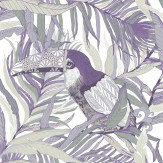 Vallila Kuiske Violet Wallpaper - Product code: 5147-1