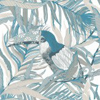 Vallila Kuiske Turquoise  Wallpaper
