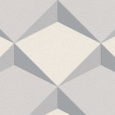 Albany Geometric Diamond Grey Wallpaper