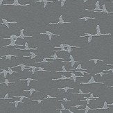 Albany Glitter Birds Charcoal Wallpaper
