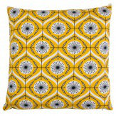 Layla Faye Bursts Cushion Tangerine - Product code: LFC-BUT002