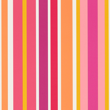 Scion Jelly Tot Stripe Raspberry, Blancmange and Rhubarb Wallpaper main image