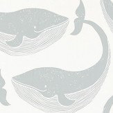 Scion Whale of a Time Slate and Parchment Wallpaper - Product code: 111272