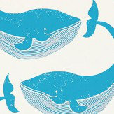 Scion Whale of a Time Ocean and Parchment Wallpaper - Product code: 111273