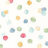 Scion Lots of Dots Pistachio, Pimento and Denim Wallpaper - Product code: 111282