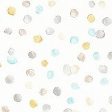 Scion Lots of Dots Hemp, Biscuit and Maize Wallpaper - Product code: 111283
