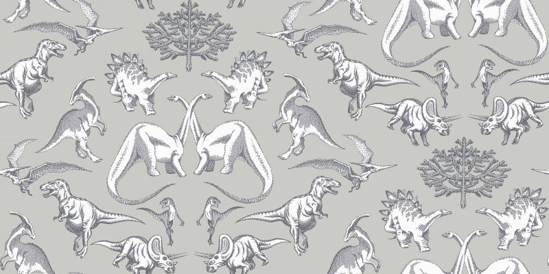 Image of Kerry Caffyn Wallpapers Dotty Dinosaurs, KC2008