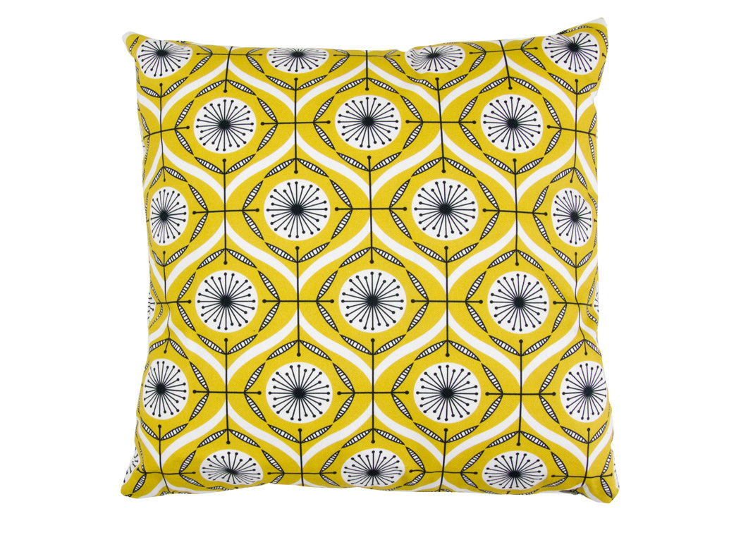 Layla Faye Bursts Cushion Olive - Product code: LFC-BUO003