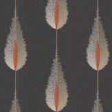 Jane Churchill Plato Black Wallpaper - Product code: J156W-05