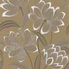Jane Churchill Zelda Gold Wallpaper - Product code: J157W-03