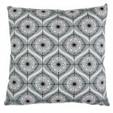 Layla Faye Bursts Cushion Cool Grey