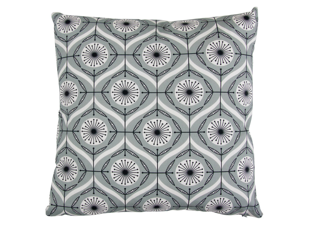 Layla Faye Bursts Cushion Cool Grey main image