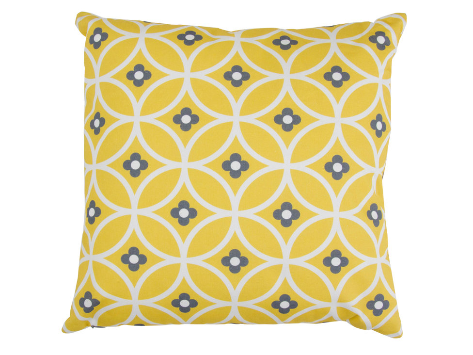 Layla Faye Daisy Chain Cushion Yellow Mellow - Product code: LFC-DCY005