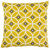 Layla Faye Daisy Chain Cushion Olive & Grey - Product code: LFC-DCO007