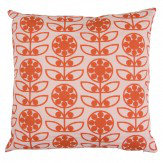 Layla Faye Dotty Flower Cushion Berry Berry