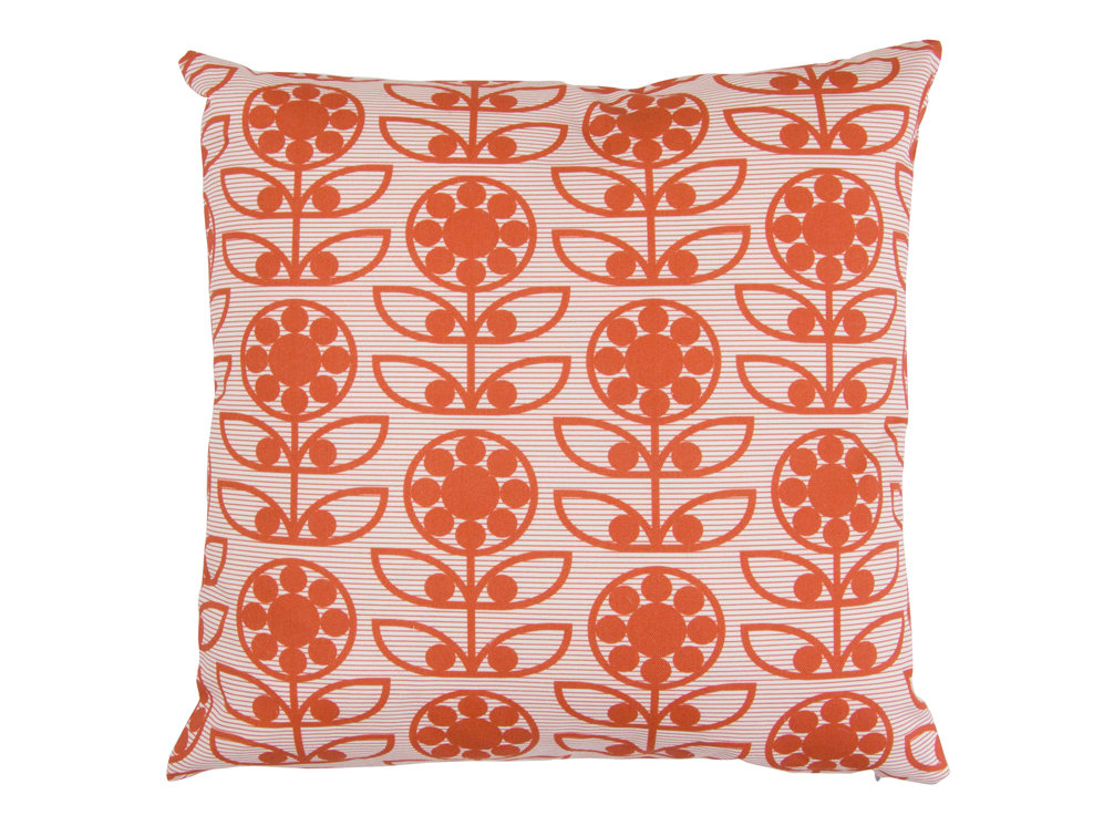 Layla Faye Dotty Flower Cushion Berry Berry - Product code: LFC-DTBB009