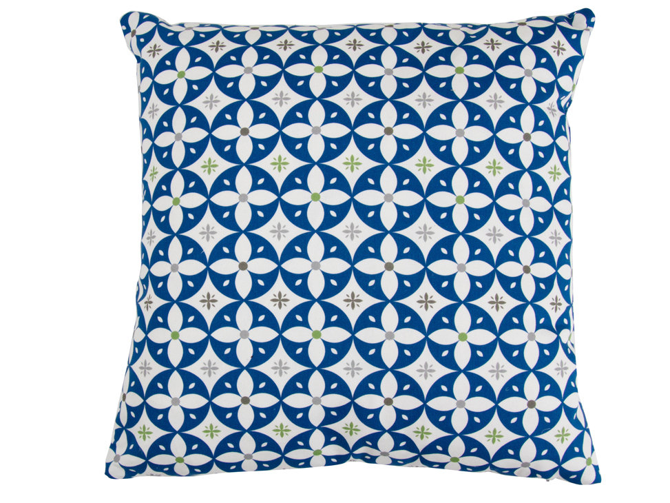 Layla Faye Flower Breeze Cushion Midnight Navy - Product code: LFC-FBN012