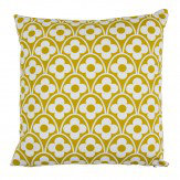 Layla Faye Flower Waves Cushion Olive - Product code: LFC-FWO016