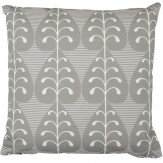 Layla Faye Golden Leaf Cushion Slate Grey - Product code: LFC-GLG019