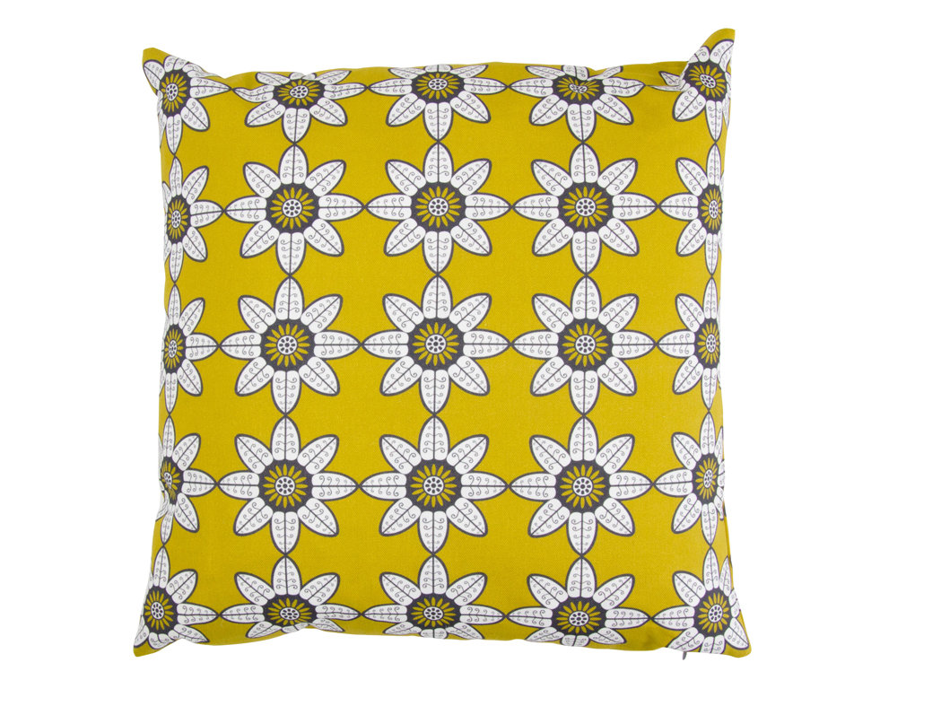 Indian Summer Cushion - Olive - by Layla Faye