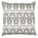 Layla Faye Owl Cushion Grey Owl - Product code: LFC-OWG022