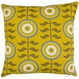 Layla Faye Tall Flower Cushion Olive