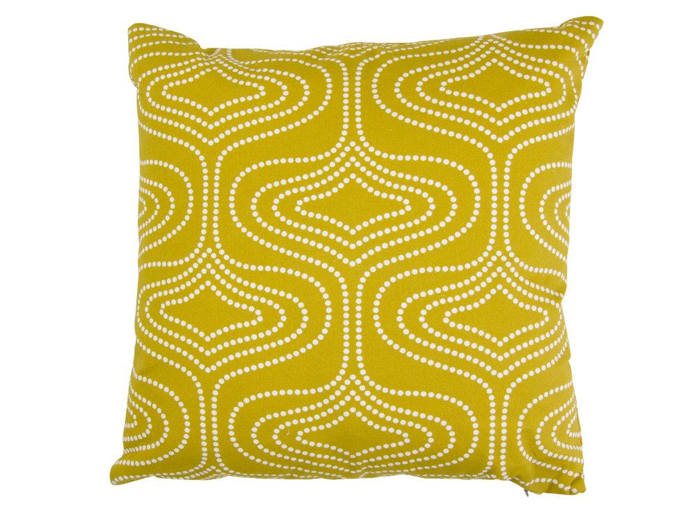 Layla Faye Whistle Dots Cushion Olive - Product code: LFC-WDO027