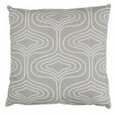 Layla Faye Whistle Dots Cushion Grey