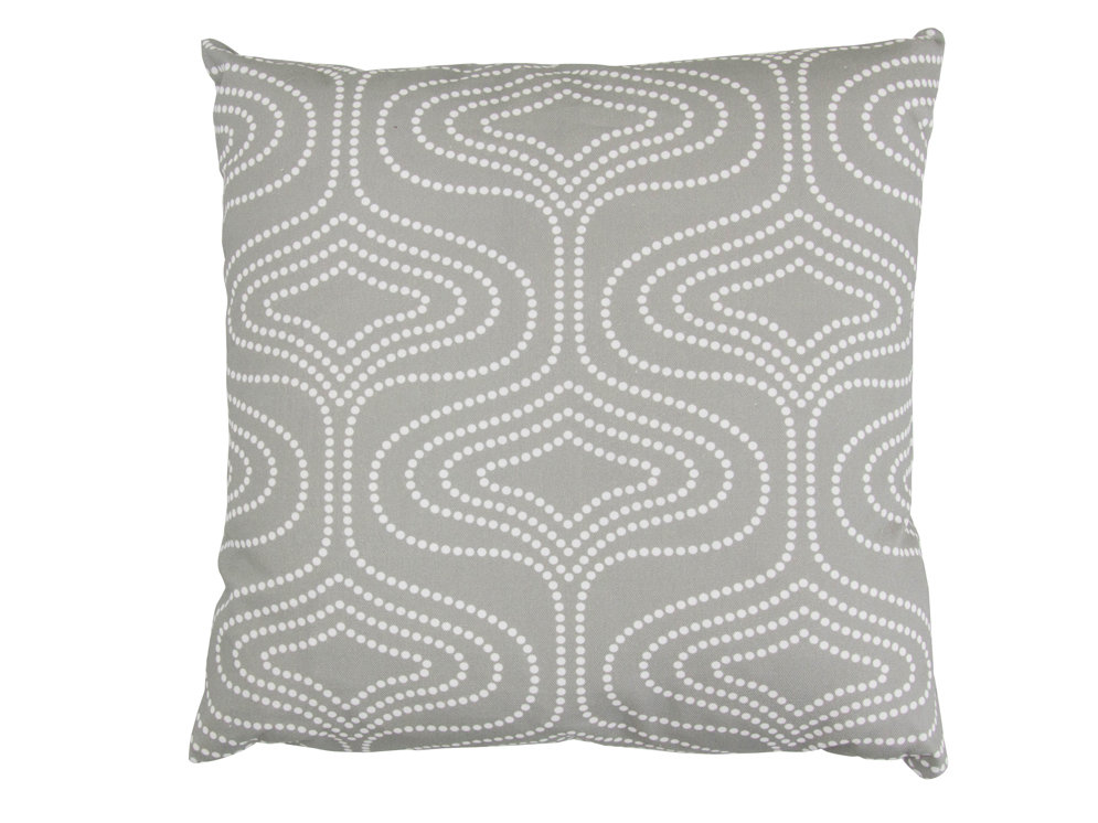 Layla Faye Whistle Dots Cushion Grey - Product code: LFC-WDG028