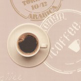 Albany Coffee Time Brown Wallpaper