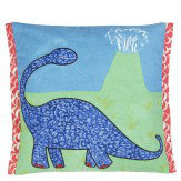 Designers Guild Dinosaur Valley Cobalt Cushion