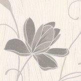 Albany Chicago Floral Grey Wallpaper