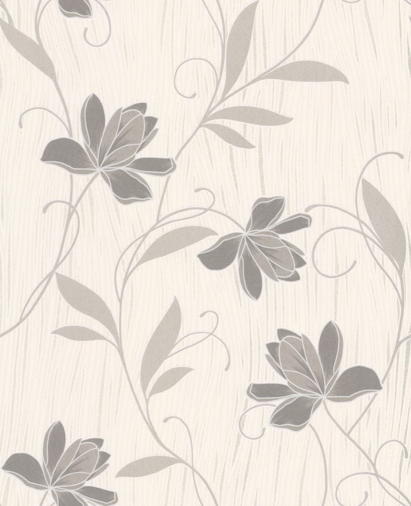 Albany Chicago Floral Grey Wallpaper - Product code: 9496-39