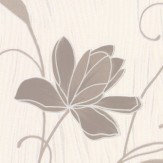 Albany Chicago Floral Taupe Wallpaper