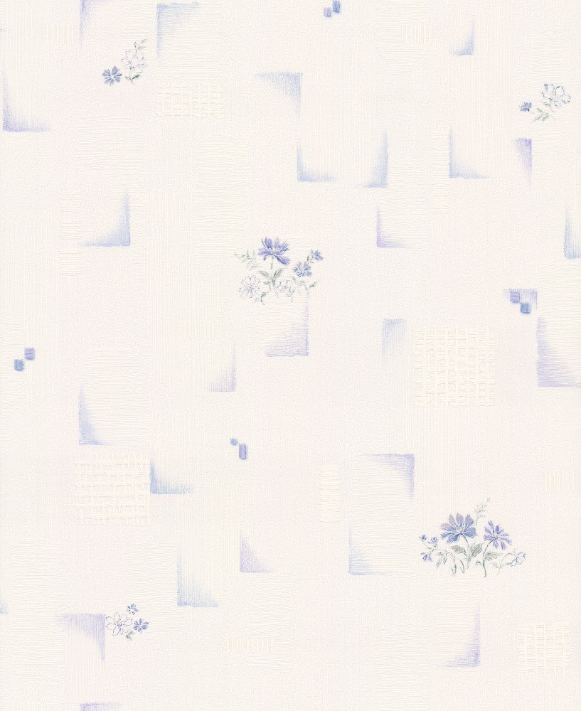 Albany Floral Tile Blue Wallpaper - Product code: 95412-1