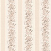 Albany Villa Floral Stripe Opal Wallpaper