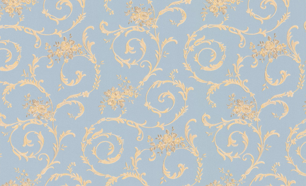 Albany Villa Decorative Blue Wallpaper - Product code: 95978-3