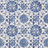 Albany Faro Tile Blue Wallpaper
