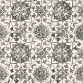 Albany Faro Tile Black Wallpaper