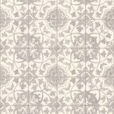 Albany Faro Tile Grey Wallpaper