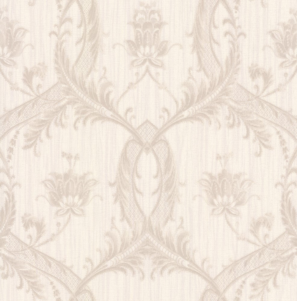 Albany Glitter Trailing Damask Opal Wallpaper - Product code: M95561