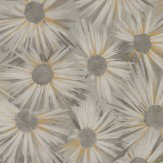 Nina Campbell Estella Grey / Gold Wallpaper - Product code: NCW4202/02