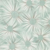 Nina Campbell Estella Aqua / Gilver Wallpaper - Product code: NCW4202/03